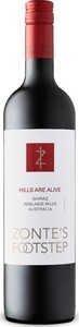 Zonte's Footstep Hills Are Alive Shiraz 2015, Adelaide Hills Bottle