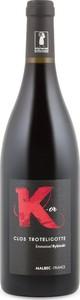Clos Troteligotte K Or Malbec 2015, Ac Cahors Bottle