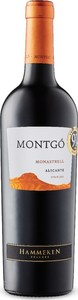 Montgó Monastrell 2015, Do Alicante Bottle