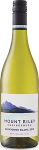 Mount Riley Sauvignon Blanc 2016, Marlborough, South Island Bottle