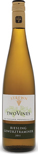 Strewn Two Vines Riesling Gewurztraminer 2016, VQA Niagara Peninsula Bottle