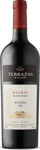 Terrazas De Los Andes Reserva Malbec 2015, Mendoza Bottle