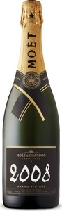 Moët & Chandon Grand Vintage Brut Champagne 2008, Ac Bottle