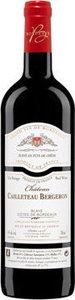 Château Cailleteau Bergeron 2015, Ac Blaye Côtes De Bordeaux Bottle
