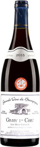 Didier Erker Givry 1er Cru Les Bois Chevaux 2015 Bottle