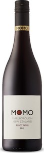 Momo Pinot Noir 2015, Marlborough, South Island Bottle