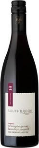 Southbrook Triomphe Gamay Laundry Vineyard 2016, Vinemount Ridge Bottle