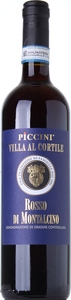 Piccini Villa Al Cortile Rosso Di Montalcino 2015 Bottle