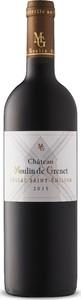 Moulin De Grenet 2015, Ac Lussac Saint émilion Bottle