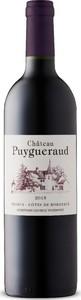 Château Puygueraud 2015, Ac Côtes De Bordeaux   Francs Bottle
