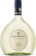 Burgerspital Trocken Silvaner 2016, Qualitätswein, Franken, Estate Btld., Dry Bottle