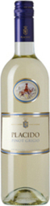 Placido Pinot Grigio 2016, Igt Delle Venezie Bottle