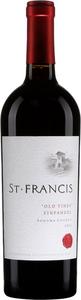 St Francis Old Vines Zinfandel 2014 Bottle