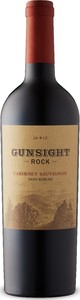 Gunsight Rock Cabernet Sauvignon 2015, Paso Robles Bottle