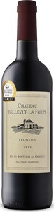 Château Bellevue La Forêt 2014, Ac Fronton Bottle