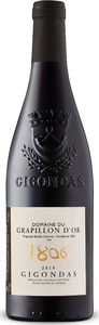 Domaine Du Grapillon D'or Gigondas 2015, Ac Bottle