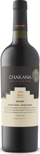 Chakana Reserve Malbec 2016 Bottle