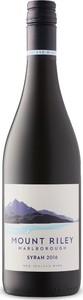 Mount Riley Syrah 2016 Bottle