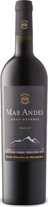 Mas Andes Gran Reserva Cabernet Sauvignon 2015, Central Valley Bottle
