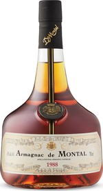 Armagnac De Montal 1988, Ac, France (700ml) Bottle
