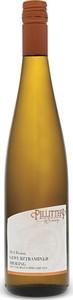 Pillitteri Gewurztraminer Riesling Fusion 2016, Niagara On The Lake Bottle