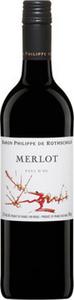 Philippe De Rothschild Merlot 2016, Pays D'oc Bottle