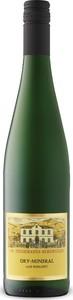 Dr. Heidemanns Bergweiler Dry Mineral Riesling 2016, Qualitätswein Bottle