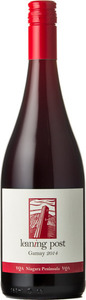 Leaning Post Gamay Wismer Armbrust Vineyard 2016, VQA Niagara Peninsula Bottle