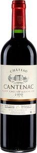 Château Cantenac 2014, Ac Saint émilion Grand Cru Bottle
