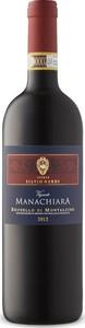 Silvio Nardi Brunello Di Montalcino Vigneto Manachiara 2012 Bottle