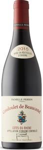 Coudoulet De Beaucastel Côtes Du Rhône 2015, Ac Bottle