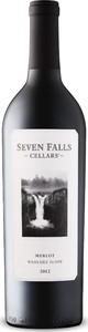 Seven Falls Merlot 2013, Wahluke Slope, Columbia Valley Bottle