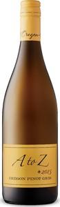 A To Z Pinot Gris 2016, Oregon Bottle