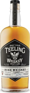 Teeling Stout Cask Irish Whiskey, Unchillfiltered, 200 Fathoms Imperial Stout Cask Finish (700ml) Bottle