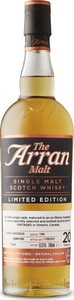 The Arran Limited Edition Single Cask 20 Year Old Single Malt Scotch Whisky, Unchillfiltered, Bottled Nov. 8, 2017, Matured In Sherry Hogshead (700ml) Bottle