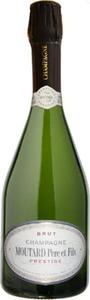 Moutard Père & Fils Cuvée Prestige Brut Champagne, Ac Bottle