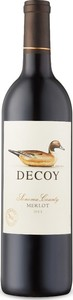 Decoy Merlot 2015, Sonoma County Bottle