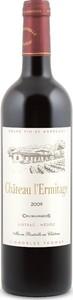 Château L'ermitage 2014 Bottle