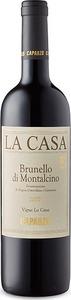 Caparzo Brunello Di Montalcino Docg Vigna La Casa 2013 Bottle