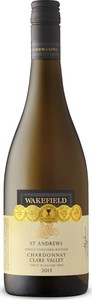 Wakefield St. Andrews Chardonnay 2015, Single Vineyard Release, Clare Valley, South Australia Bottle