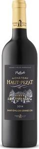 Prélude Du Château Haut Pezat 2014, Ac Saint émilion Grand Cru Bottle
