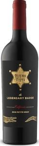 Buena Vista The Legendary Badge Petite Sirah 2016, California Bottle