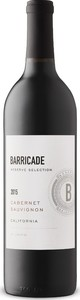 Barricade Reserve Selection Cabernet Sauvignon 2015 Bottle