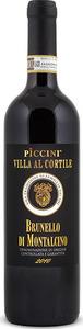 Piccini Villa Al Cortile Brunello Di Montalcino Docg 2013 Bottle