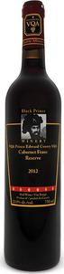 Black Prince Cabernet Franc Reserve 2015, VQA Prince Edward County Bottle