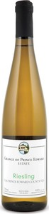 Grange Of Prince Edward Riesling 2016, Ontario Bottle