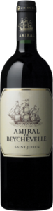 Amiral De Beychevelle 2014, Second Wine Of Château Beychevelle, Ac St Julien Bottle