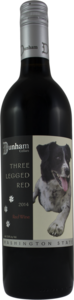 Dunham Cellars Three Legged Dog Cabernet Sauvignon 2014, Columbia Valley Bottle