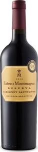 Fabre Montmayou Reserva Cabernet Sauvignon 2015, Mendoza Bottle