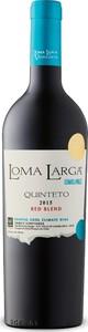 Loma Larga Lomas Del Valle Quinteto 2015 Bottle